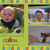 Project 2013 - Crawford Watches Caillou on Nanny's tv