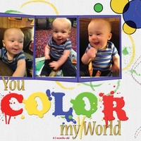 Project Life 2013 - You Color My World