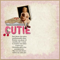Tuesday Freebie Challenge Cutie Pie