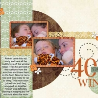 Monday Challenge 12/11/12 Taking 40 Winks