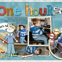 "Scraplift Challenge ""One hour with you"""