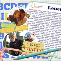 "Thursday Challenge ""C is for Chatty"""