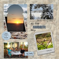 Five thing I love Challenge 2/6/12