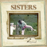 Sisters - Thursday Challenge, 3/24