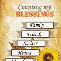 November 2013 ATC - Counting My Blessings