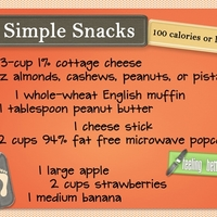 Simple Snacks - 100 calories or less!