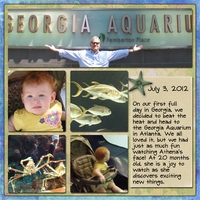 Georgia Aquarium - left