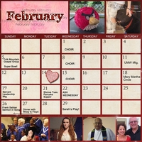 Project SG Challenge 2012, February calendar