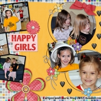 Happy Girls, May 2012