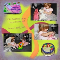 Project SG 2011 January Week 4 Leftt: Laura's 2nd Birthday