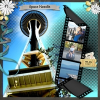 Simply September Wk 4 - Space Needle