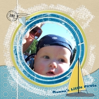 Tuesday 9/6 freebie challenge Little Pirate