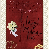 January ATC - Today I marry my friend