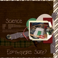 earthquake safe (Speedscrap 1/25)