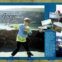 Columbia Gorge Ninjas(double the fun)