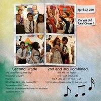 Tuesday Freebie Challenge-2nd & 3rd Vocal Concert