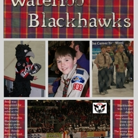 Project Life 2013 Blackhawk Hockey