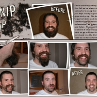 Project Life 2013 Shaving of the Beard