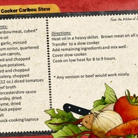 January Slow Cooker Recipe:  Caribou Stew