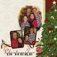 Task #4 Layout:  Family Christmas (left)