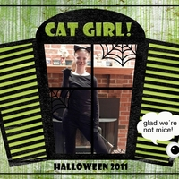 Halloween - Cat Girl