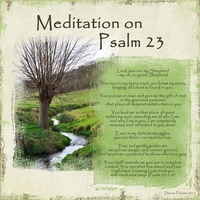Meditation on Psalm 23