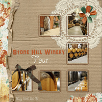 Thursday 1/23 challenge. StoneHill Winery
