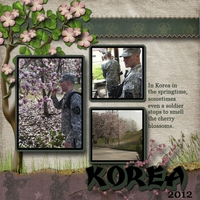 Korea in Sprintime