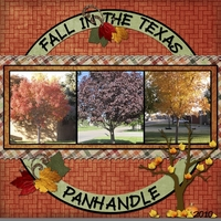 Fall in the Texas Panhandle