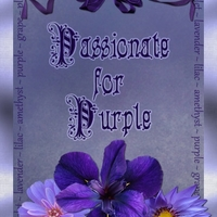 April ATC Fave Color - Passionate for Purple
