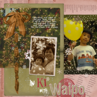 Thursday Challenge 10 Jan (ScrapSimple layout template)