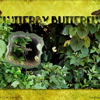 July 10 -Freebie-Flutterby Butterfly