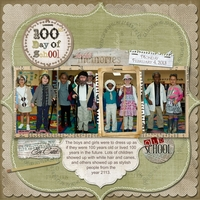 Feb 8 - Scraplift - 100th Day of School