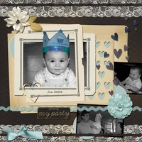 April 5 - Heritage Scraplift - Jax B-Day