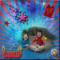 Feb 4 - Stars and Stripes - Wild Child(s)