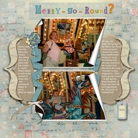 Aug 11 - Color - Merry Go Round?