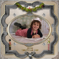 June Scrap Simple - Jax Christmas 2007