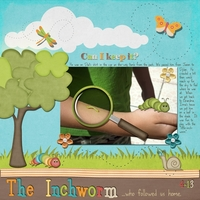 April 6 - An Inchworm Followed Us Home