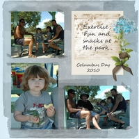 ColumbusDay3 - At The Park