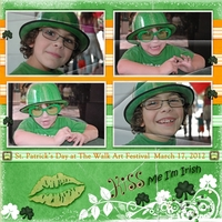 Week 4 Simple Steps - Kiss Me I'm Irish