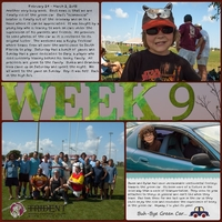 Project Life Week 9 Page 1