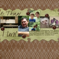 5 Things I love Monday Challenge 020612