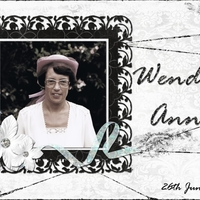Tuesday Freebie - Wendy Anne