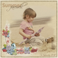 Thursday Challenge - Summer Farewell