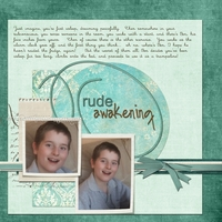 Friday Challenge - Rude Awakening