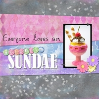 Monday Challenge - Ice cream Sundae