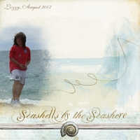 Tuesday Freebie Challenge - Seashells