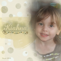 Kiahna - March 2012