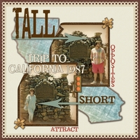 Thurs 5/31 Challenge: Tall & Short