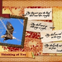 Simplify Sept - Week 3 - Thinking of You card